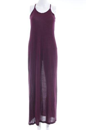 Topshop Maxikleid braunviolett-purpur Casual-Look