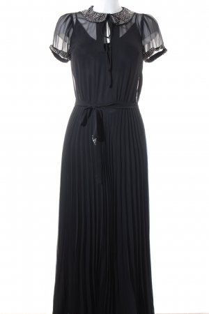 Topshop Vestido largo negro elegante