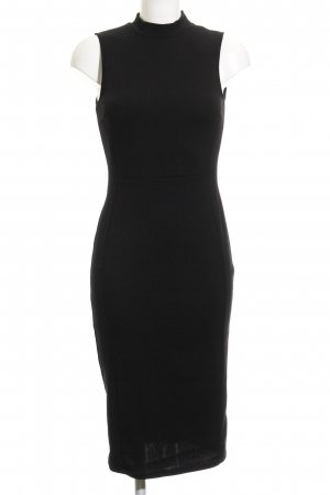 Topshop Midikleid schwarz Business-Look