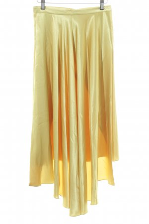 Topshop Gonna midi giallo stile casual