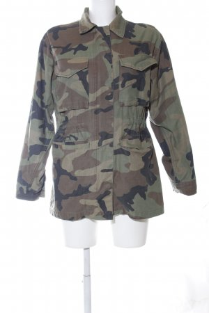 Topshop Veste militaire motif de camouflage style décontracté