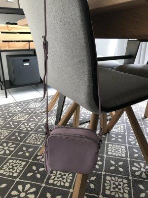Topshop Mini Bag mauve-silver-colored