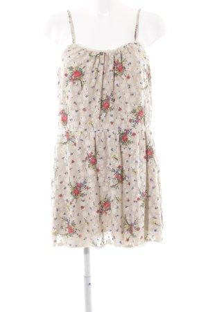 Topshop Minikleid Blumenmuster Romantik-Look