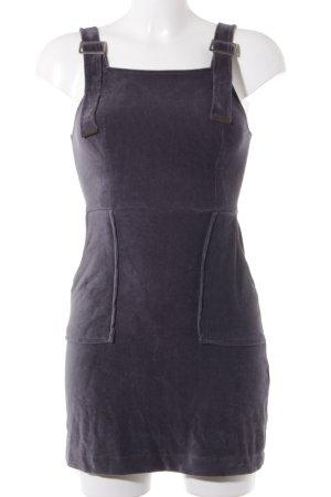 Topshop Robe courte gris ardoise style décontracté