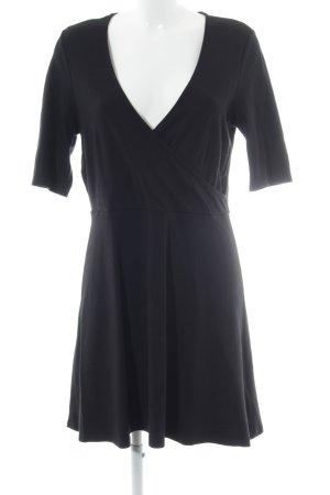 Topshop Robe courte noir style décontracté