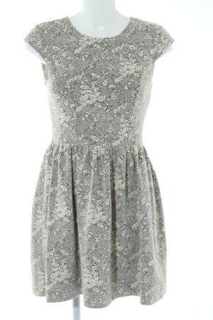 Topshop Mini Dress natural white-black elegant