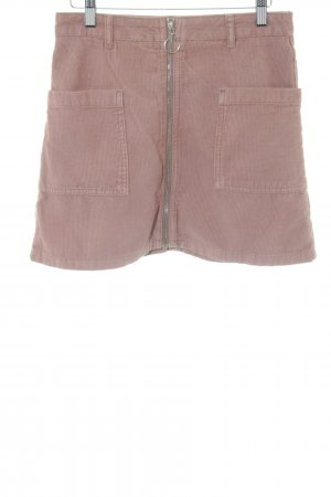 Topshop Minirock braun-nude Casual-Look