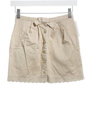 Topshop Minirock beige Casual-Look