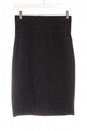Topshop Minirock schwarz Business-Look