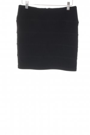 Topshop Mini-jupe noir style décontracté
