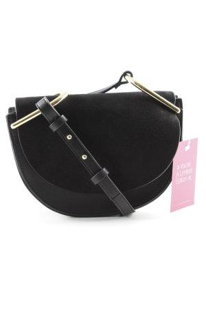 Topshop Minitasche schwarz-goldfarben Elegant