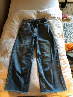 Topshop Jeans a 3/4 blu fiordaliso