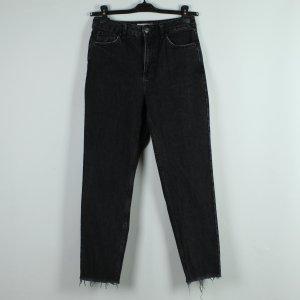 Topshop Jeans boyfriend antracite Cotone
