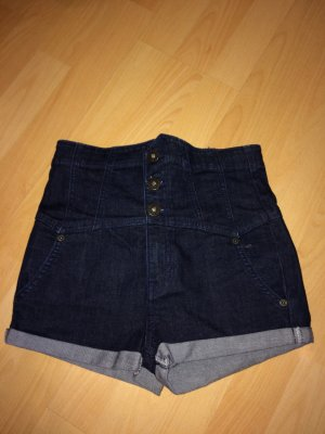 Topshop Moto High Waist Shorts 26