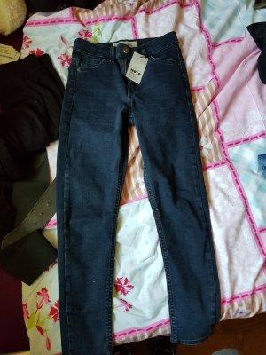 TOPSHOP Moto/Petite Jamie Jeans