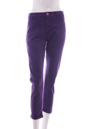 Topshop Moto Skinny Jeans dunkelviolett