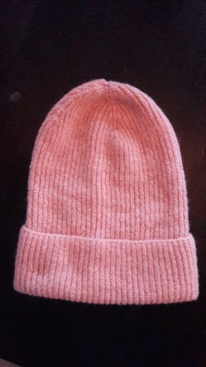Topshop Mütze Beanie Strick Knit Rosa