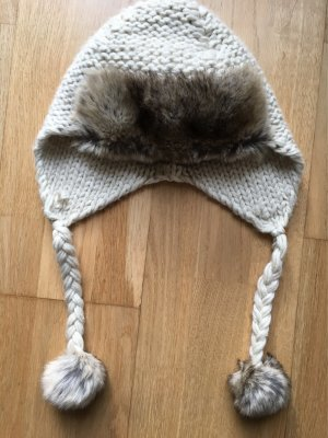 Topshop Fur Hat multicolored