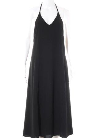 Topshop Neckholderkleid schwarz Elegant