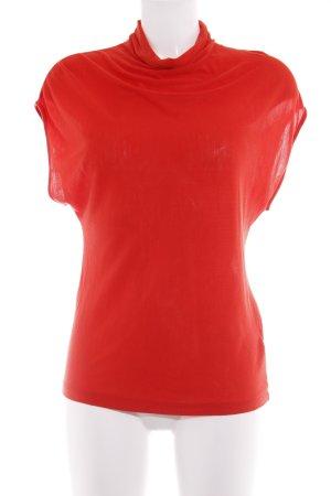 Topshop Top senza maniche rosso stile casual