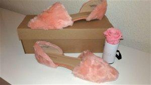 TopShop - Neu -offene Ballerina rosa Gr. 40