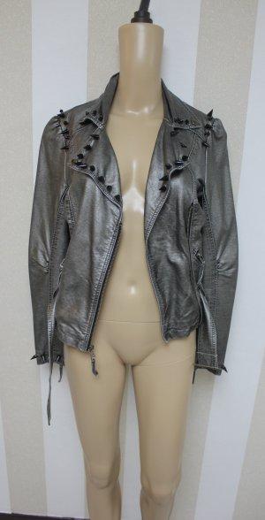 Topshop Jacket silver-colored-grey