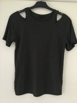 Topshop Shirt anthracite-dark grey