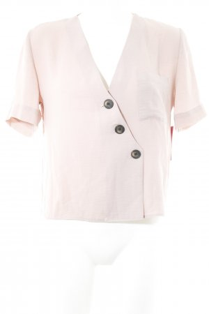 Topshop Oversized blouse stoffig roze Jaren 90 stijl