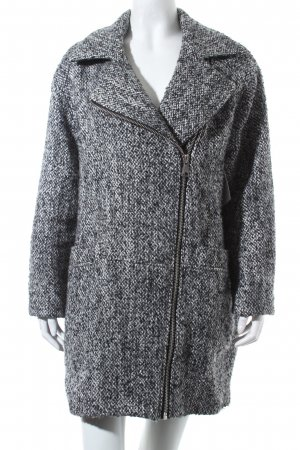 Topshop Oversized Coat multicolored simple style