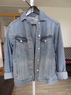 Topshop Denim Jacket blue