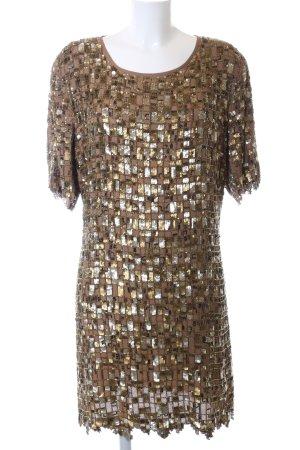 Topshop Sequin Dress check pattern elegant