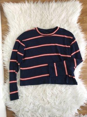 Topshop Petite Camisa recortada multicolor