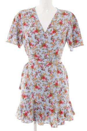 Topshop Petite Robe portefeuille motif de fleur style décontracté