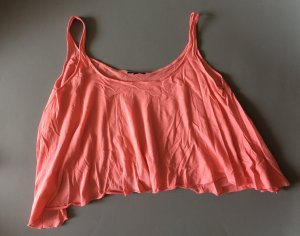 Topshop Pink Sleeveless Top