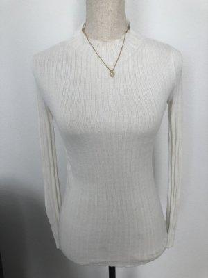Topshop Pull tricoté blanc cassé-blanc