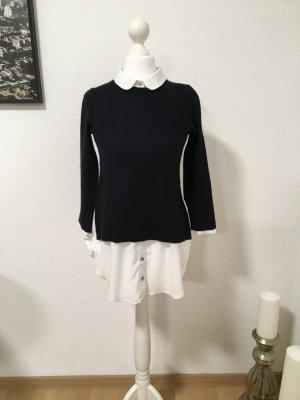 Topshop Fashion white-dark blue