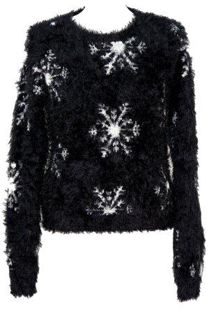 Topshop Pullover in Schwarz