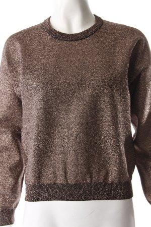 Topshop Pullover Metallic Bronze