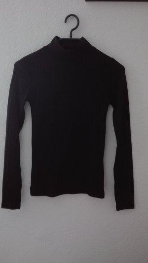 Topshop Jersey de cuello alto negro