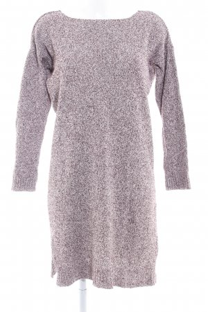 Topshop Sweater Dress bordeaux-white flecked casual look