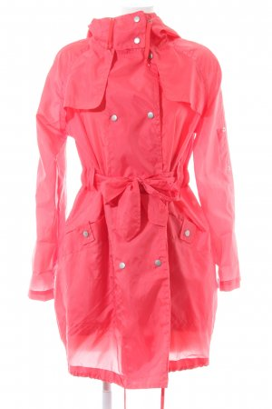 Topshop Raincoat pink extravagant style
