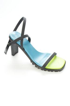Topshop Riemchen-Sandalen mehrfarbig extravaganter Stil