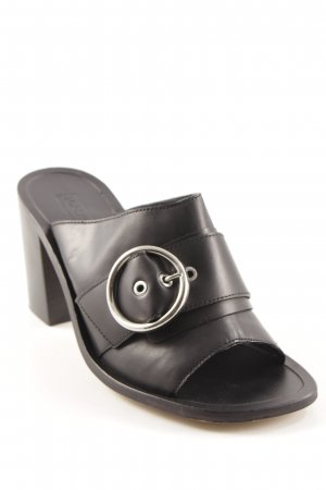 Topshop Strapped High-Heeled Sandals black casual look