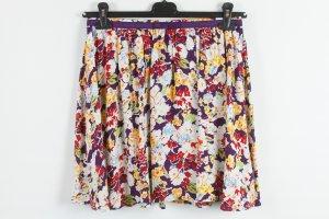 Topshop Miniskirt multicolored viscose