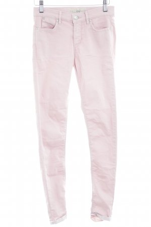 Topshop Drainpipe Trousers dusky pink casual look