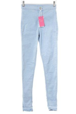 Topshop Jeans a sigaretta azzurro modello web stile casual
