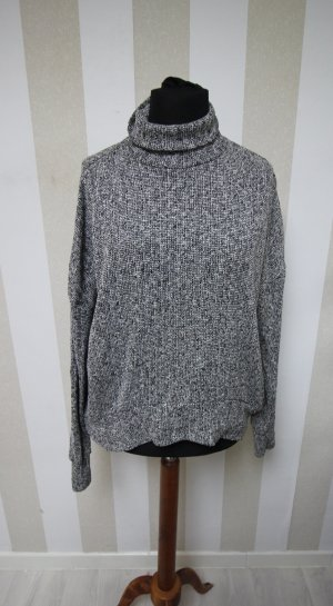Topshop Turtleneck Sweater grey-black