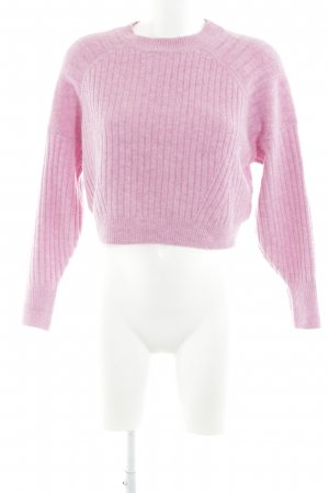 Topshop Crewneck Sweater pink street-fashion look