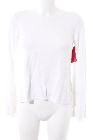 Topshop Maglione girocollo bianco sporco stile casual
