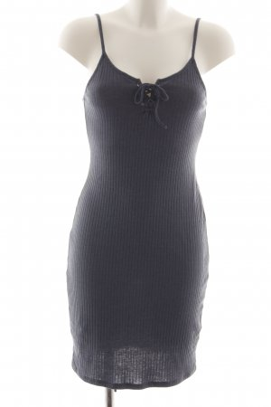 Topshop Tube Dress light grey casual look